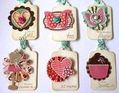 pretty little tags