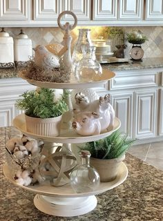 80 Best Farmhouse Dining Room Makeover Decor Ideas – HomeSpecially Kitchen – home accessories Country Decor, Rustic Decor, Rustic Theme, Image Deco, Kitchen Island Decor, Kitchen Tray, Kitchen Ideas, Pig Kitchen, Kitchen Herbs
