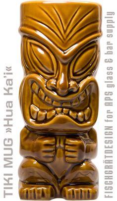 TIKI MUG »Hua Ka'i« – Fischgrätdesign for APS Tiki