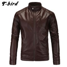 We love it and we know you also love it as well T-bird Jacket Men Winter 2017 Coat Male Bomber Jacket Men PU Leather   Brand Outwear Mens Cotton Jackets Clothing XXL KSKXM just only $25.35 - 26.75 with free shipping worldwide  #jacketscoatsformen Plese click on picture to see our special price for you