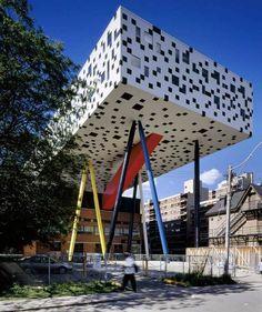 Centro de Design Sharp | Will Alsop | http://www.bimbon.com.br/projeto/centro_de_design_da_sharp