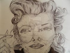 Pointilist marilyn by ~xxpokerfacexx86 on deviantART