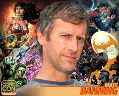 *PIN to WIN* Meet comicbook artist Matt Banning at #SLCC16! Known for his work at Top Cow, Marvel, and DC Comics! #utah