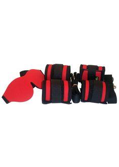 Buy Whip Smart Explore Bondage Kit Fire Red online cheap. SALE! $53.49