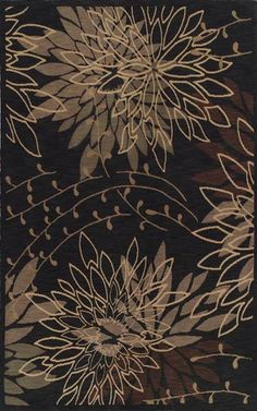 Dalyn Meridian MN64 Black Closeout Area Rug - Spring 2010