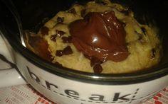 Mug cookie - nutella
