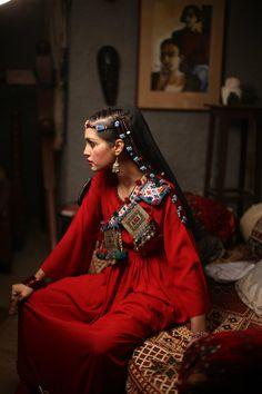 Sarah Gandapur Designs ~ Pakhtoon Inspired Collection