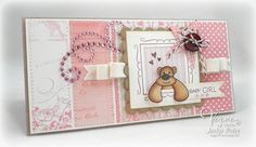 It's a Girl! by strappystamper - Cards and Paper Crafts at Splitcoaststampers