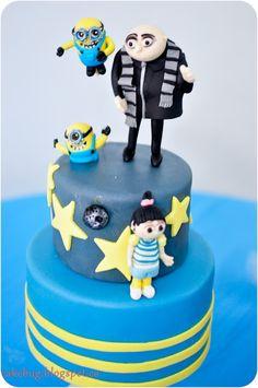 cakebug: Despicable Me Cake