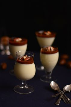 Desserts In A Glass, Panna Cotta, Breakfast Recipes, Cooking Recipes, Sweets, Candy, Eat, Ethnic Recipes, Food