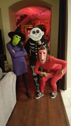 My friends and I costume as  Shock, Barrel and Lock.