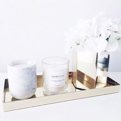 Brass + Marble = a match made in heaven ✔️ | #missrosaboutique
