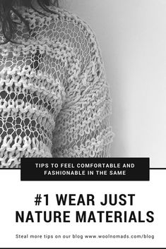 Just natural! Comfortable traveling and style can be one. Find out about our tips on our blog www.woolnomads.com/blog #cotton #knitwear #trips #fashiontrips #comfortablefashio #slowfashion #knitting2018