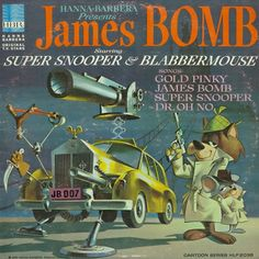 Daws Butler and Don Messick - James Bomb starring Super Snooper and Blabbermouse (1965)