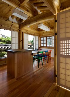 Traditional Interior, Traditional House, Japanese Interior Design, Space Interiors, Japanese House, Style At Home, Interior Design Living Room, Architecture Design, New Homes