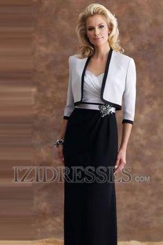 Sheath/Column Sweetheart Satin Mother Of The Bride Dress - IZIDRESSBUY.COM at IZIDRESSBUY.com