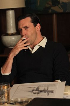 don draper... his character is awesome, and he's so easy to look at... why don't men look like this anymore?