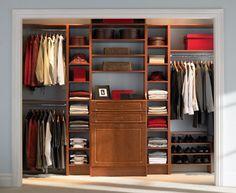 Diy closet organizer ikea closet organizers closet system clothes organizer clothes storage closet master closet design reach in closet closet organizers Reach In Closet, Walk In Closet Design, Walk In Wardrobe, Bedroom Wardrobe, Wardrobe Design, Closet Designs, Wooden Wardrobe, Bedroom Closets, Wooden Closet