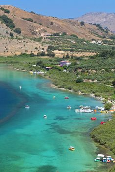 Kournas lake is located about 45 km west of Chania. The only freshwater lake of Crete, covering an area of sq. Vacation Places, Vacation Destinations, Crete Holiday, Summer Travel, Summer Vacations, Holiday Travel, Greece Travel, Island Life, Greek Islands