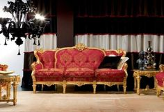 Gold Carving Sofa Set - Top and Best Italian Classic Furniture