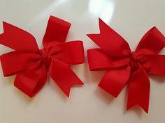 a Pair Hair Ties, Headbands, Bows, Pairs, Handmade, Color, Style, Ribbon Hair Ties, Arches