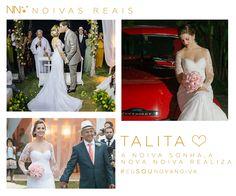 Talita #eusounovanoiva #noivasreais #vestidosdenoiva #noiva #bride #weddingdress #weddingdresses #casamento