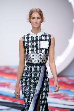graphic design x asymmetrical :: Spring 2013 collection by Peter Pilotto