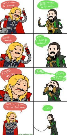 Avengers Time- totally just read that with their voices!!