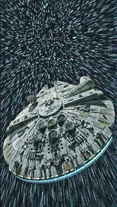 It's the Millennium Falcon!!