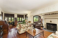 Brooklyn's 'Gingerbread House' Among Year's Favorite Listings Zillow Porchlight Gotham, Interior Photo, Interior Design, Brooklyn Real Estate, Recessed Ceiling, Living Area, Living Rooms, Living Spaces, Architectural Digest