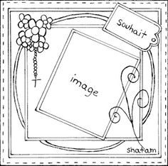 Sketch carte - boutique Art du Scrapbooking par Shatam 2011