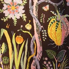 $270 per yard - this is the outrageous fabric on our old Anthropologie couch. I miss it.