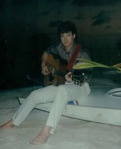 Belize, Central America (San Pedro Island) - White pants, bare feet, the beach at night and a guitar - sweet!
