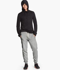 $20 sweatpants from HM.com @Kristin Ford  these would be great! the quick cheap and local option down at the mall. I NEED SWEATPANTS! NO MORE JEANS WHILE FREELANCING FROM HOME!!! Also, tell my mom to get me a pair. Maybe diff colors, but if only one, then grey.