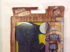 Vintage 70s Action Man/G.I Joe Knock Off Action Outfits Dress Marine Outfit | eBay