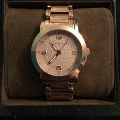 Rose gold Michael Kors watch Never worn! Michael Kors Accessories Watches