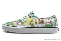 523af83ef9 Sneakers DAILY VANS X PEANUTS CARTOON COMICS PRINTED AUTHENTIC COLORED SKATE  SHOES VANS FOR SALE-www.vansoldskoolsneakers.com