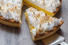 Recette de tarte au citron meringuée facile.