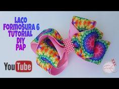 Laço de Gorgurão Laço Formosura 5 DIY Pap Tutorial By Iris Lima - YouTube