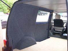 VW Transporter carpet lining Vw T5, Vw Transporter Van, Vw Syncro, Motorhome Interior, Campervan Interior, Van Conversion Interior, Camper Van Conversion Diy, Vw Conversions, Mercedes Vito