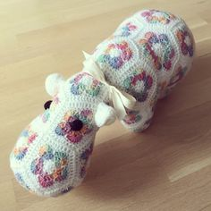 Happypotamus crochet pattern by Heidi Bears.