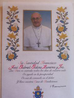 Bendición Papal que me llegaron para escribir el nombre de a quienes se las dedicaban