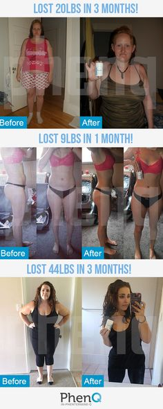 Take a look at these weight loss before and after pictures from some of our customers! Can you believe their transformations? Head to our site now to order PhenQ and see the results for yourself!