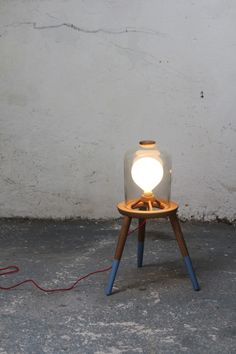 Stool Lamp - Felix McCormack