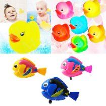 Baby Bath Toys 3x Yellow Duck with LED Lights plus 3x Wind Up Fish Kids Bath Toys, Bath Toys For Toddlers, Baby Bath Toys, Kids Toys, Mermaid Bath Toys, Cleaning Bath Toys, Toys R Us, Pet Toys, The Little Mermaid