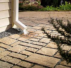 """Belgard Environmental Pavers  Discover a new genus of paver, ideal for both residential and commercial hardscapes. Belgard's Environmental pavers are attractive, all-weather durable and most important, eco-friendly.  Permeable Paver Systems – the """"Green"""" Solution!"""