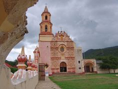 Misión de Nuestra Señora de la Luz en Tancoyol, Jalpan de Serra, Qro. Misiones de la Sierra Gorda de Querétaro. Patrimonio de la Humanidad.