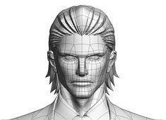 サンジゲン Interview 「3DCGアニメーションで2Dセルルックを! 独自の手法で切り拓くアニメーション新時代」   Autodesk :: AREA JAPAN   ユーザ事例 3d Model Character, Character Modeling, Character Design, Re Cyborg, 3d Mesh, Modeling Techniques, 3d Tutorial, Post Apocalypse, Wireframe