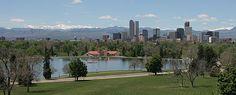 city park denver springtime in Colorado