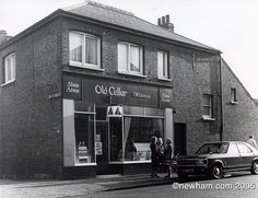 Still stands today off plashet Road - HARBERSON ROAD A newsagent today